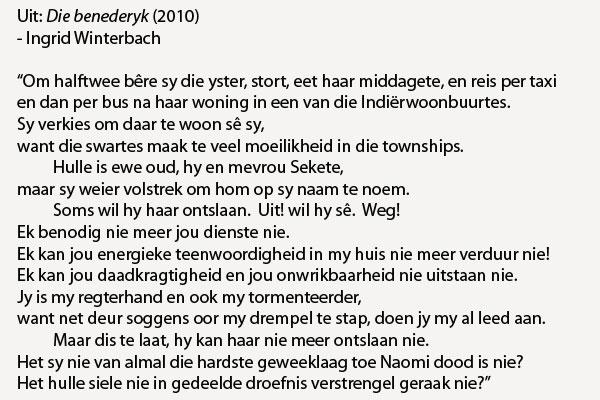 afrikaanse toesprake Om uitstekende opstelle te kan skryf is nie almal beskore nie maar vir tayla  gouws van die laerskool handhaaf op uitenhage kom kreatief.