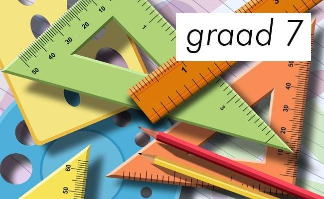 Wiskundevraestel en memorandum (Junie, graad 7, senior fase