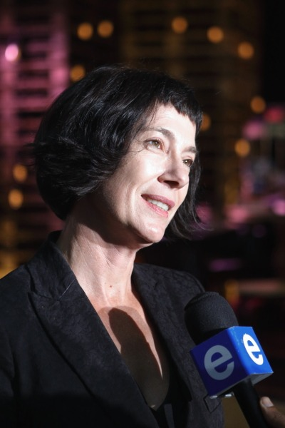 Debbie Loots, wenner van die ATKV Prosaprys, doen 'n onderhoud ná die tyd