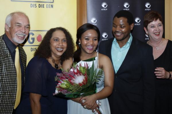 Rouel Beukes, Jaunelle Celaire, Palesa Malieloa, Lionel Mkwanazi en  Lize Thomas (Coetzer)