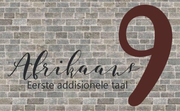 Po Sietoets Graad 9 Afrikaans Eerste Addisionele Taal LitNet