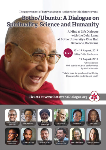 The Dalai Lama in Botswana: an interview | LitNet