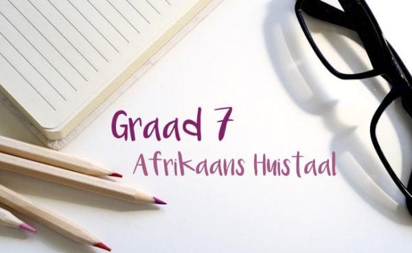 Graad 7 Afrikaans Huistaal Junie Oefenvraestel 1 LitNet