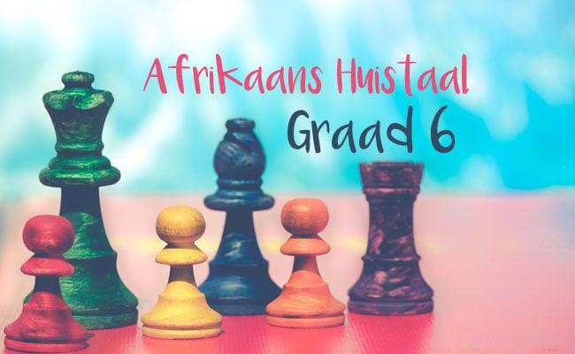 Graad 6 Afrikaans Huistaal September Oefenvraestel 1 LitNet