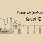 Graad 10: Fisiese Wetenskappe (Chemie): vraestel 2 en memorandum
