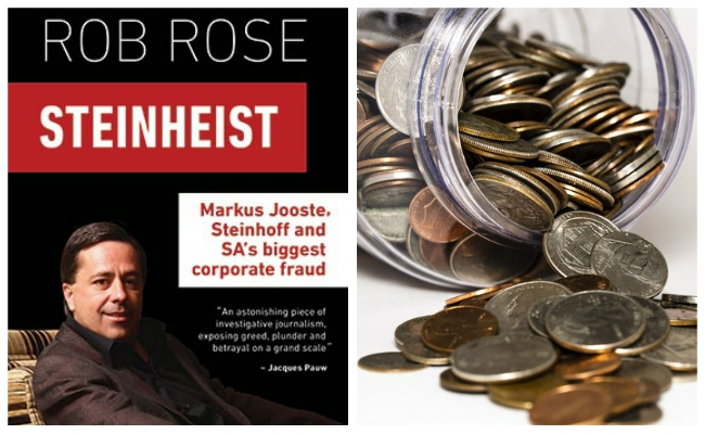 Steinheist Markus Jooste Steinhoff And Sa S Biggest Corporate Fraud By Rob Rose Book Review Litnet